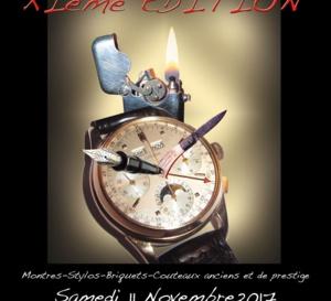 Rocollection, le 11 novembre à Paris : montres, briquets, stylos et couteaux anciens