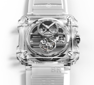 Bell & Ross BR-X1 Skeleton Tourbillon Sapphire : elle montre tout !