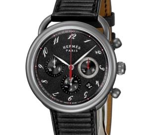 Hermès : le chrono Arceau se fait tout léger grâce au titane
