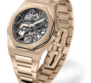 Girard-Perregaux Laureato Flying Tourbillon or rose ou blanc