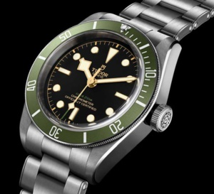 "Tudor Black Bay ""Green"" : exclusivité Harrod's"