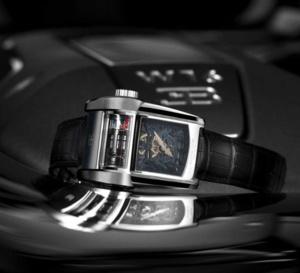 Parmigiani Fleurier Bugatti Type 390 : un bloc moteur à votre poignet