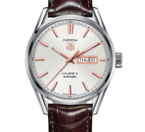TAG Heuer Carrera Calibre 5 : inspiration vintage