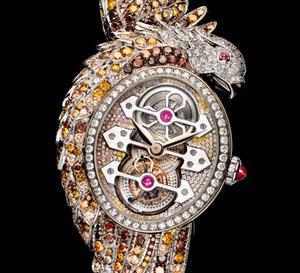 Ladyhawke Tourbillon : quand la Haute Joaillerie de Boucheron rencontre la Haute Horlogerie de Girard-Perregaux