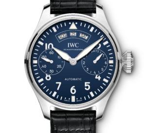IWC : une Montre d'Aviateur Calendrier Annuel avec cadran laqué