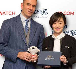 Eberhard : signature d'un accord avec le site de e-commerce chinois JD.com