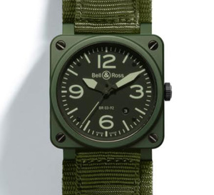 Bell&Ross Instrument BR 03-92 Military ceramic : de l'art du camouflage militaire