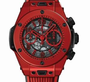 "Big Bang Unico Red Magic : et Hublot ""créa"" la céramique rouge"