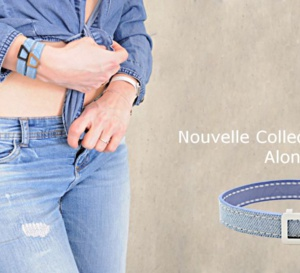 Alony : lancement d'un bracelet en denim