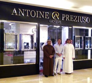 Antoine Preziuso ouvre une boutique à Dubaï