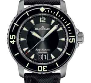 Blancpain lance sa Fifty Fathoms dans une version Grande Date