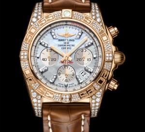 Breitling Chronomat 01 « Diamondworks » : un chrono qui brille de mille feux