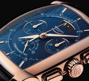 Parmigiani Fleurier Kalpagraphe Chronomètre : bleu abyss