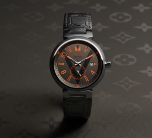 Louis Vuitton Tambour Grey titanium