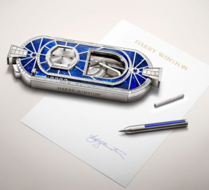 Precious Signature by Harry Winston : une pendulette automate d'exception