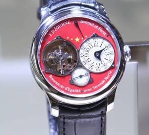F.P. Journe ouvre à Pékin et lance une série ultra limitée de cinq montres