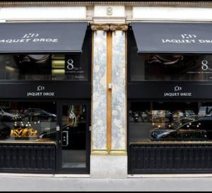 Jaquet Droz ouvre au 8 rue de la Paixà Paris