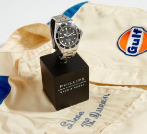 Une Rolex Submariner de Steve McQueen en vente aux enchères à New York