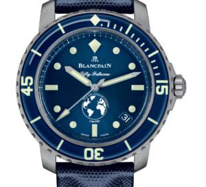 Blancpain : une Fifty Fathoms pour la sauvegarde des océans
