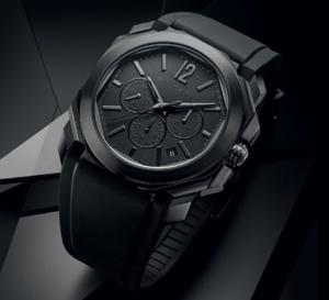 Bvlgari Octo L'Originale : un chrono full black très masculin