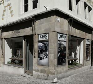 Oris : ouverture d'une boutique exclusive à Zurich