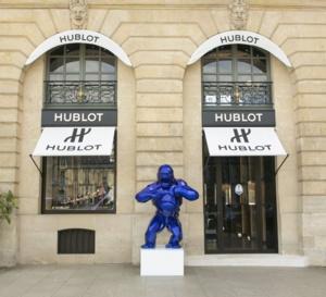 Hublot : réouverture de sa boutique de la place Vendôme à Paris