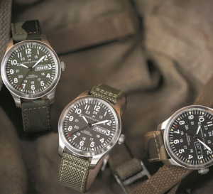 Hamilton Khaki Field Camouflage : in the army now