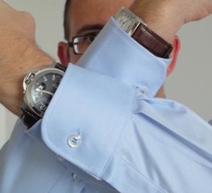 Portrait de David Fournier, amateur de montres de luxe et créateur de Cronovestis