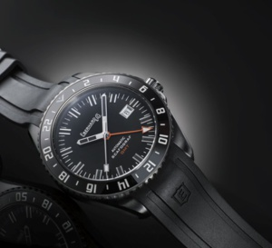 Eberhard Scafograph GMT The Black Sheep