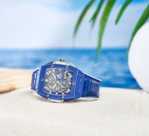 Chrono Hublot Spirit of Big Bang Blue : le grand bleu