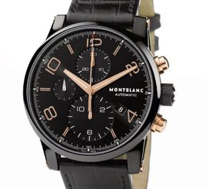 Montblanc TimeWalker Dual Carbon : la chaleur de l'or rouge sur le noir profond DLC
