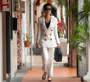 Crazy rich asians : Michelle Yeoh porte une Richard Mille RM 07
