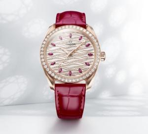 Omega Seamaster Aqua Terra Joaillerie : montre-bijou