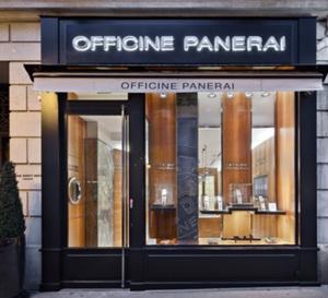Officine Panerai ouvre une boutique exclusive à Paris