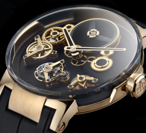 Ulysse Nardin Executive Tourbillon Free Wheel : montre avant-gardiste
