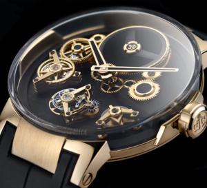 Ulysse Nardin Executive Tourbillon Free Wheel : montre avant-gardiste