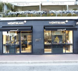 Montblanc ouvre à Monaco dans le Palais Saint James