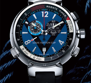 Louis Vuitton Tambour Régate Navy Automatique