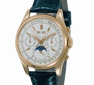 Patek Philippe : la grande tradition des chronographes