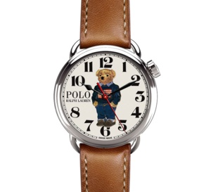Ralph Lauren Polo Bear : so cool, so preppy !