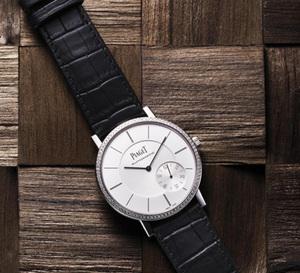 Piaget Altiplano 43 mm : or gris et lunette sertie pour 2011