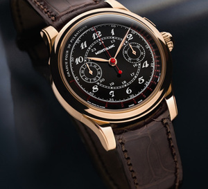 Montblanc Collection Villeret 1858 : Pulsographe vintage, une belle « doctor's watches »