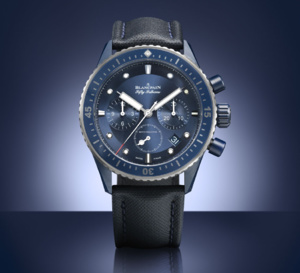 Blancpain : un chrono Bathyscaphe Bucherer Blue Editions