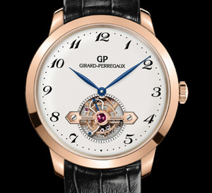 Girard-Perregaux 1966 Tourbillon sous pont d'or : hommage aux montres de poche à tourbillon
