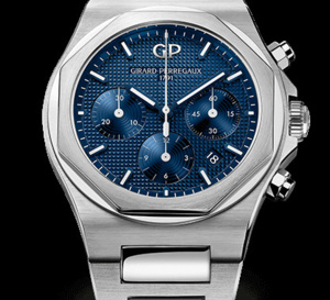 Girard-Perregaux et sa Laureato chrono remportent le Bucherer Watch Award 2018