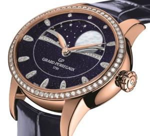 Girard-Perregaux Cat's Eye Celestial Aventurine : emphase de Lune