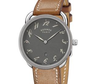 Hermès Arceau 78 : boitier acier avec calibre quartz