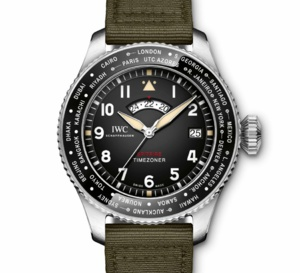 "IWC Montre d'Aviateur Timezoner Spitfire Edition ""The Longest Flight"""