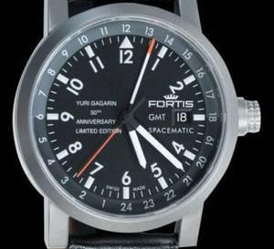 Fortis et Iouri Gagarine : une  montre pour le 50ème anniversaire du premier homme dans l'espace