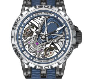 """Roger Dubuis Excalibur Aventador S Bucherer Blue Editions : huit exemplaires """"monde"""""""
